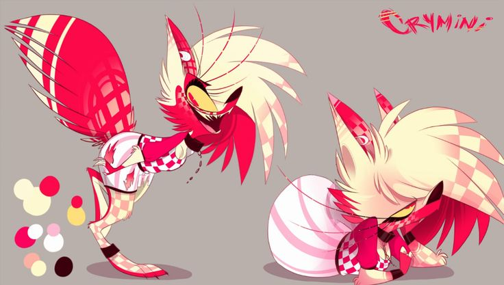 A Secret Updated Ref Sheet Of Crymini By Vivziepop