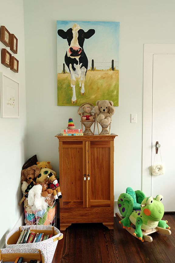 Vintage Farm Chic Toddler Room