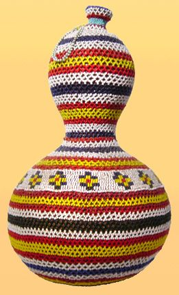 Zulu beaded calabash from south africa africa history for African arts and crafts history