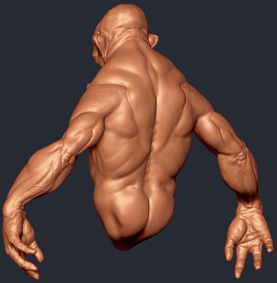For 3d printing. Detailed Sculpt - artist. Joe perry