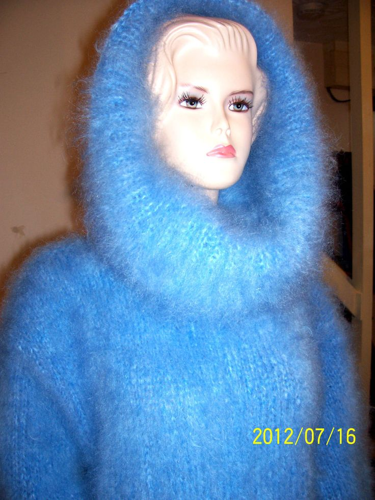 Soft mohair cowl neck | Soft and Fuzzy!!!