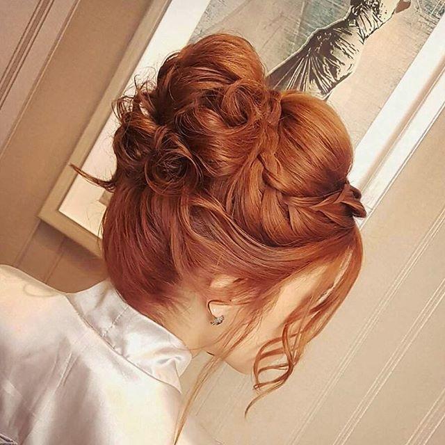 ⭐Inspiração para vcs lindonas!! Hair produzido por Joaquim   #jhessykarhayannie #hair #haircut #hairdresser #hairdressing #penteado #salaogoiania #penteadosdivos #madrinha #formanda2017 #noiva #ruiva #hairmessy #ojoaquim #goiânia #alphahairgoiania