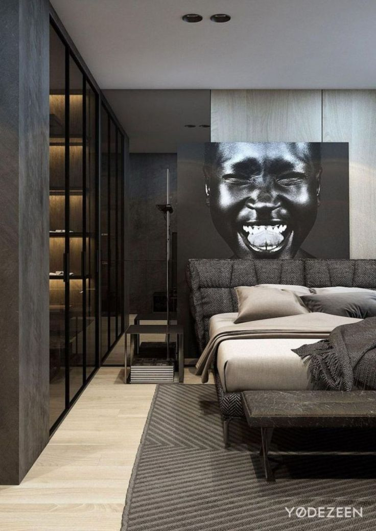 20+ Modern Bedroom Decorating Ideas For Men