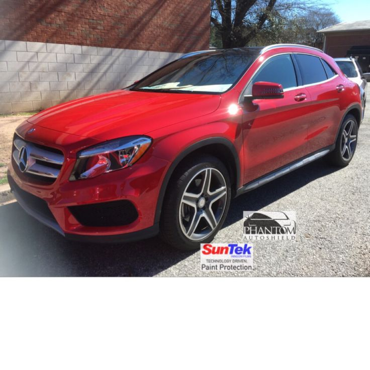 2016 mercedes benz gla 250 sport with full front wrap for Mercedes benz paint protection package