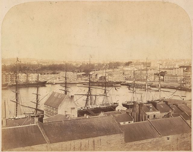 Circular Quay, Sydney NSW. Before 21/12/1880