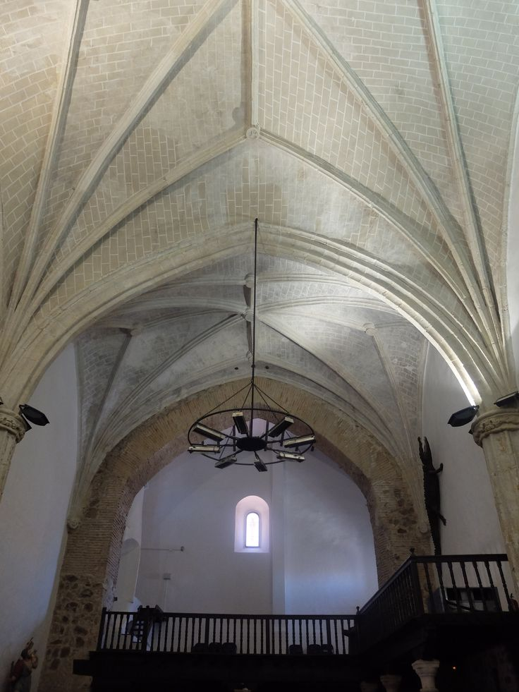 Iglesia de Nuestra Señora de la Asunción. Pies de la nave