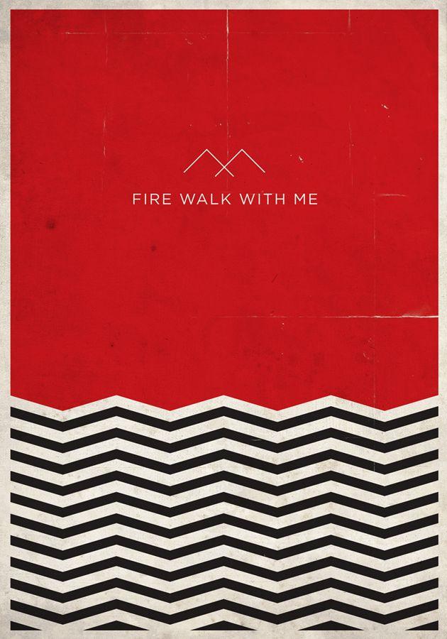 twin peaks-crossed over triangles tattoo