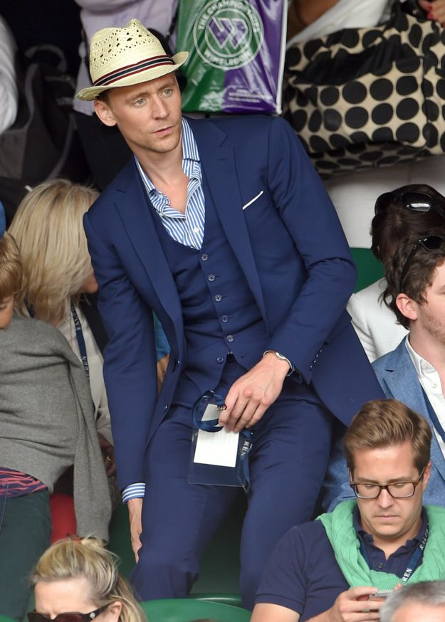Tom Hiddleston | All The Celebrities Who Have Attended Wimbledon 2015 So Far