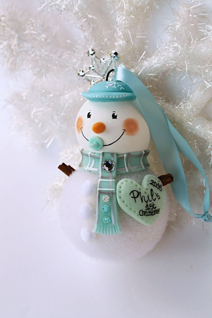 Custom first christmas ornament - Baby S First Christmas Ornament Https Www Etsy Com Listing