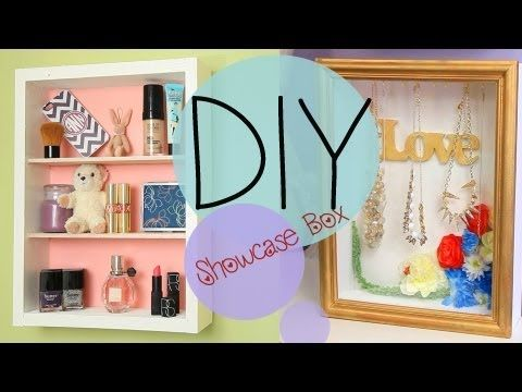 DIY Showcase Shadowbox Jewelry Shelf and Display – Ann Le Style