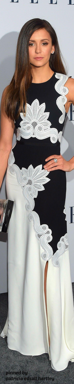 Nina Dobrev via @patriciahartley. #NinaDobrev #gowns