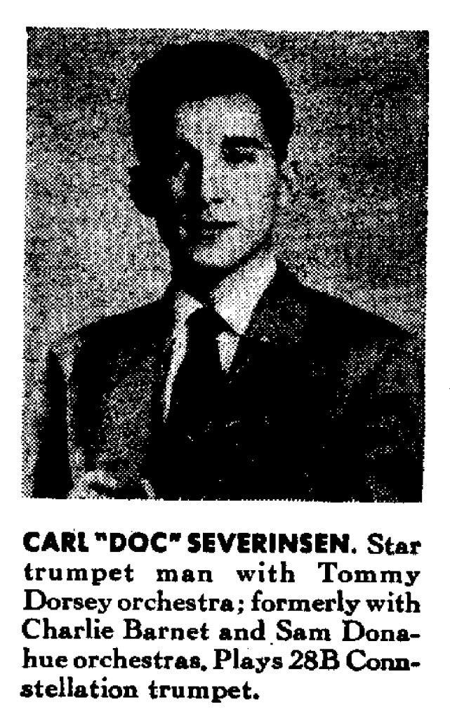 Doc Severinsen Conn Trumpet .. - View topic: Trumpet Herald forum