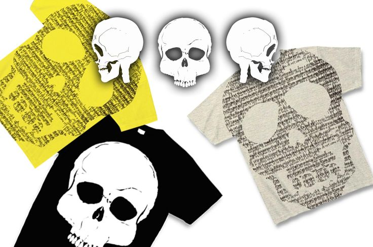 スカルTシャツ:シンプルでクールなスカルがモチーフのTシャツ!パンクやロックの象徴とも言えるデザインをシンプルにメンズはもちろんレディース用のサイズも、Tシャツの通販で迷ったらシンプルなドクロで。