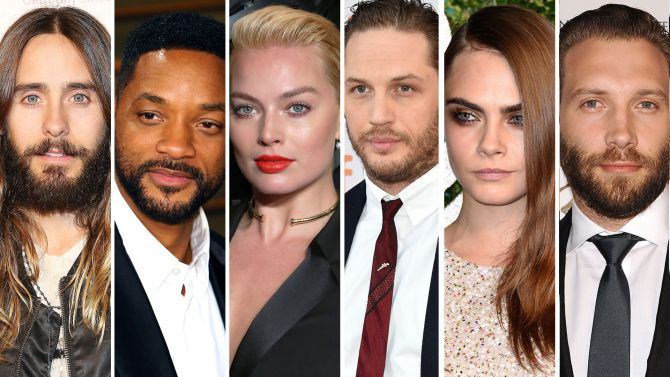 'Suicide Squad' Cast Revealed: Jared Leto to Play the Joker, Margot Robbie Will Be Harley Quinn, Will Smith is Deadshot.
