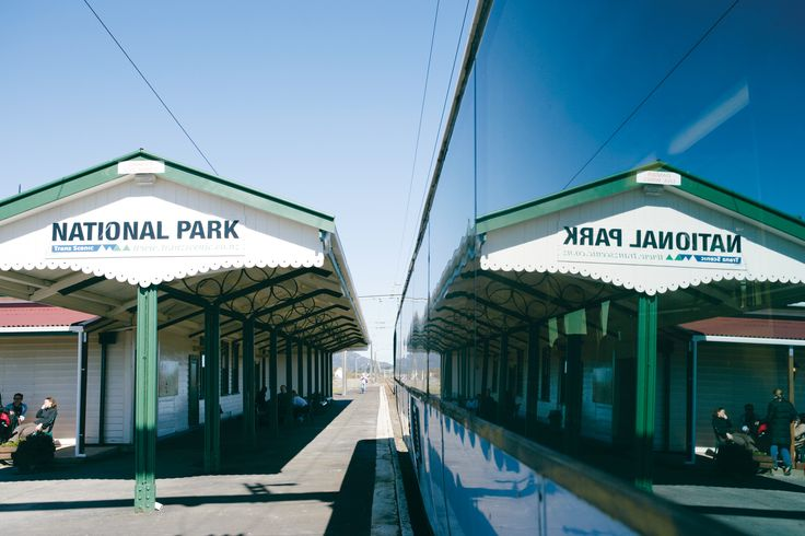 National Park Train station, New Zealand #photography #travel