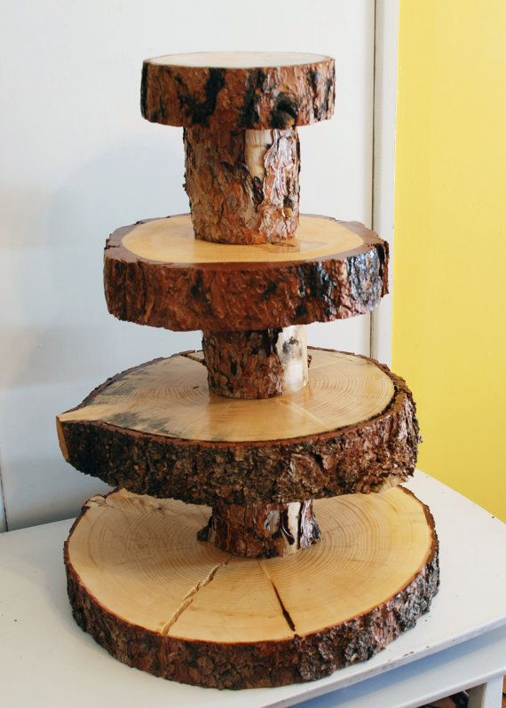 rustic wood cake stand 1000 ideas about wooden cupcake stands on 7230