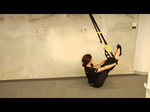TRX Senior Instructor PJ O'Clair demonstrates three Pilates-inspired exercises on the TRX Suspension Trainer.