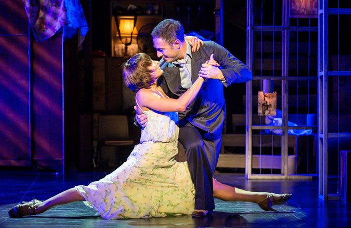 Flavia Cacace and Vincent Simone in The Last Tango at the Phoenix Theatre, London.