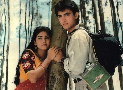 With Juhi Chawla