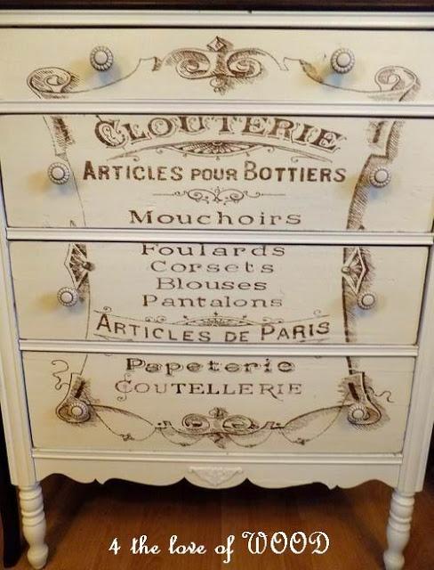 DIY: French dressing chest (Tutorial) @Faith Keeton