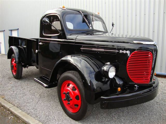 '46 REO Speedwagon (Can you even get a cooler vehicle name?)