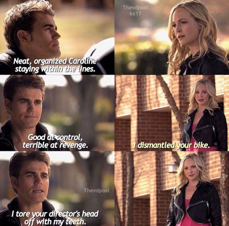 "#TVD 6x17 ""A Bird in a Gilded Cage"" - Stefan and Caroline"