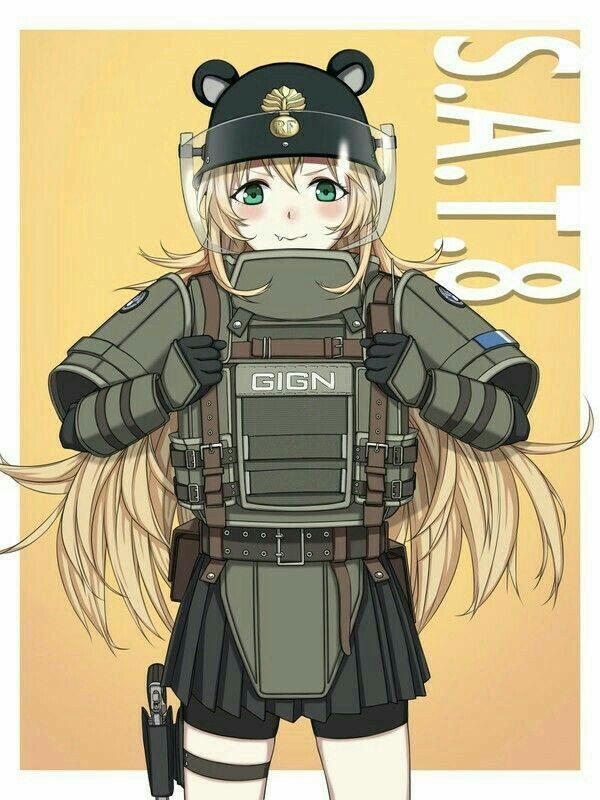 Pin Di Anime Girl