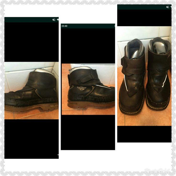 Botas art personal boots de cremalleras año 1997