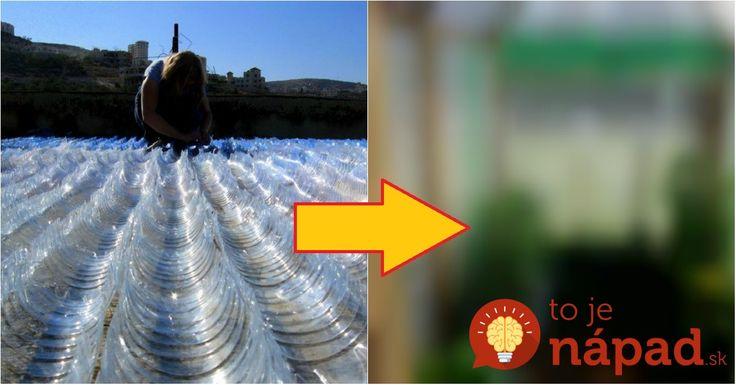 Celú zimu zbieral plastové fľaše: Na jar ich priniesol do záhrady a vymyslel perfektnú vec, ktorá sa hodí každému pestovateľovi!