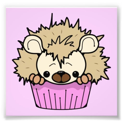 Pix For &gt- Cute Cartoon Cupcake With Face   Food Fun   Pinterest ...