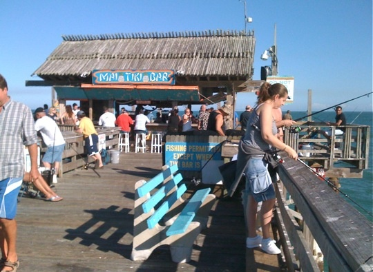 Mai tiki bar cocoa beach fl pinterest cocoa beach for Cocoa beach fishing pier