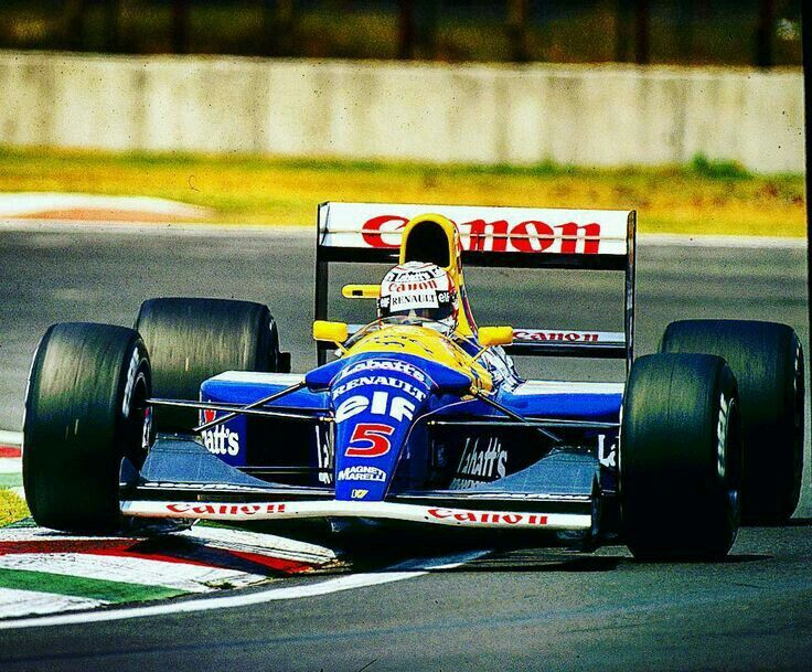 Nigel Mansell                      WILLIAMS FW14B RENAULTRS3C / RS4            (NA3.5L-V10)