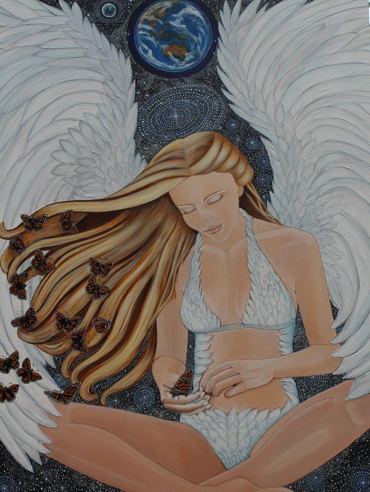 Ethereal Universe Original artwork on canvas.