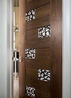 Tru-Stile door TM13420 in walnut