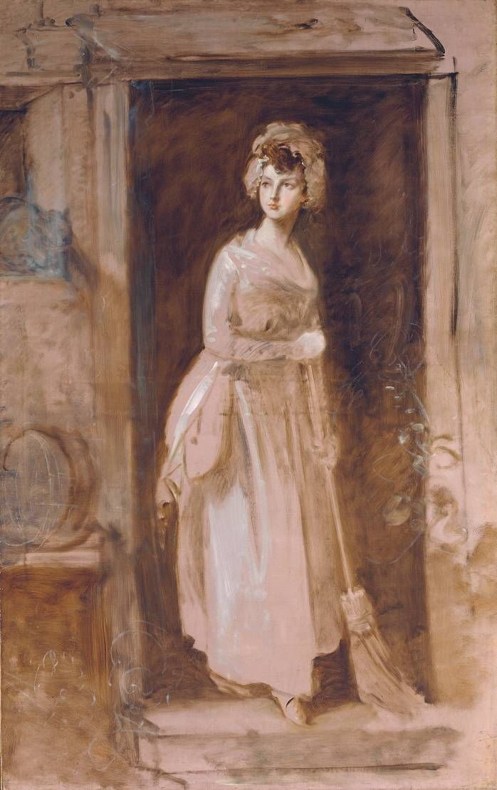 Thomas Gainsborough  The Housemaid  1782-6  Reference Number: N02928  Tate Museum, London  http://www.tate.org.uk/art/artworks/gainsborough-the-housemaid-n02928