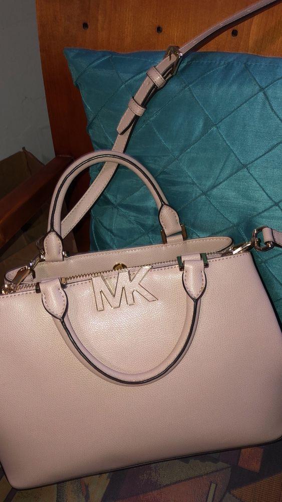 b612b1f157e4 Michael Kors MK Saffiano Leather Large Acorn Satchel Crossbody Bag 398  #fashion #clothing #shoes #accessories #womensbagshandbags ...