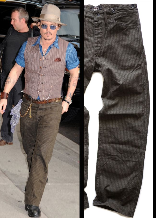 Johnny Depp Rrl Style Pinterest Johnny Depp