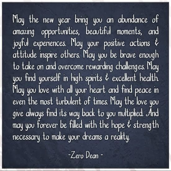 Inspirational Picture Quotes...: May the new year bring you.