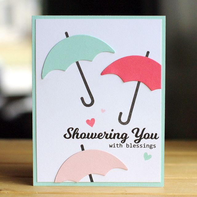Bridal Shower Gift Greetings : wedding shower cards baby shower cards wedding cards umbrella cards ...