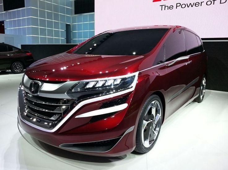 Honda Odyssey 2017, wow