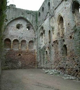 Chepstow Castle - Wales  Isabel de Claire 4th Countess of Pembroke lived here with her husband, William Marshal, 1st Earl of Pembroke,  25th GGM