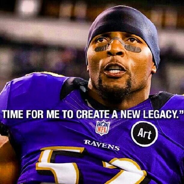 Ray Lewis, Linebacker, Baltimore Ravens