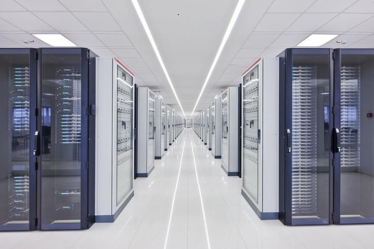 All'interno dei nostri data center. I nostri rack.