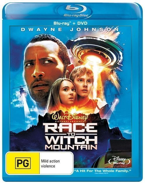 Race To Witch Mountain Blu-Ray DVD R4 ( Two Disc Edition )