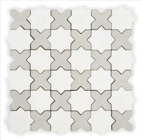 Kitchen Tile Backsplash Ideas Star Cross Mini Mosaic In