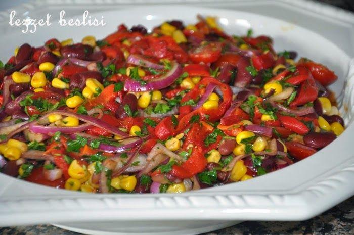 denenmiş resimli yemek tarifleri: Meksika Salatası
