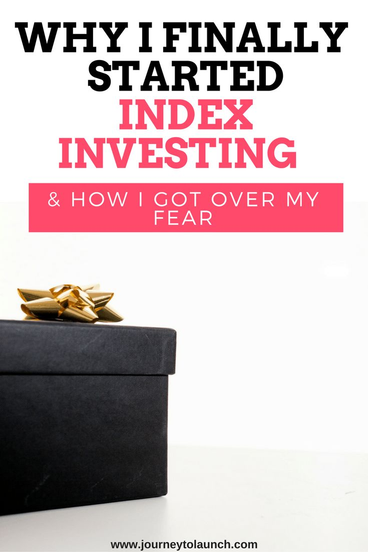 I've been putting off index investing all year. I'd made a bunch of reasons up about why it wasn't the right time to start. They were all lies I told myself, just so that I could mask the intense f…