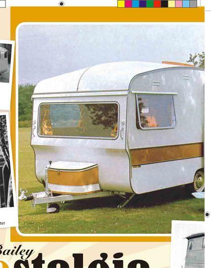 1969 Bailey caravan made in the UK