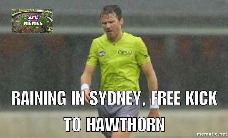 Free Kick Hawthorn