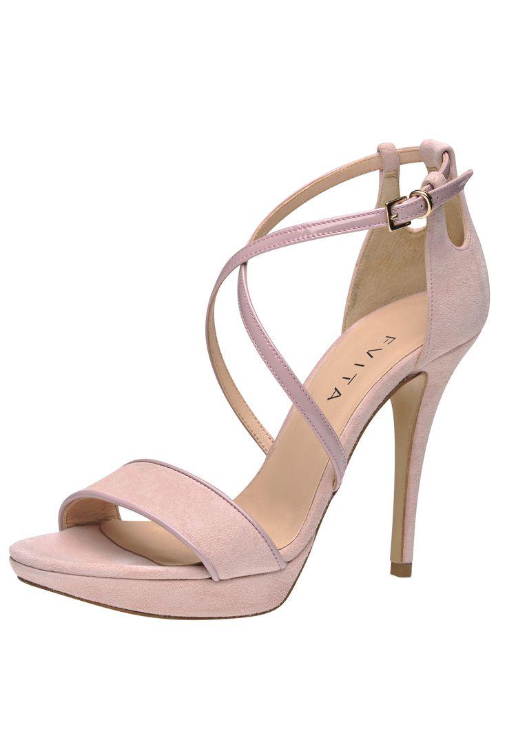 Wundervoll elegante Schuhe von Evita. Der perfekte Begleiter für einen festlichen Anlass! @ABOUT YOU http://dein.aboutyou.de/p/evita-shoes/damen-sandalette-2168100?utm_source=pinterest&utm_medium=social&utm_term=AY-Pin&utm_content=2016-04-KW-15&utm_campaign=Shoe-Board